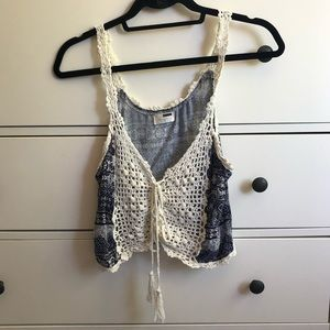 LF Crochet Crop Top